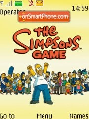 Simpsons Game theme screenshot