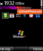 Windows xp 22 tema screenshot