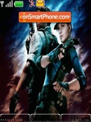 Resident evil 5 Theme-Screenshot