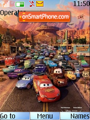 Cars theme screenshot