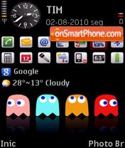 Pac-Man by To theme screenshot
