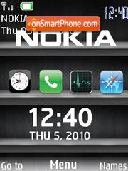 I Phone Shelf theme screenshot