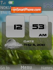 Nokia Fresh Hero theme screenshot