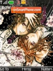 Vampire Knight theme screenshot
