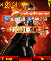 Dr who 01 theme screenshot