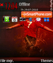 David Villa 02 theme screenshot