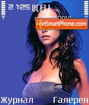 Jennifer Love Hewitt theme screenshot