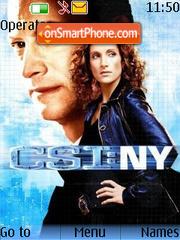 CSI:New York theme screenshot