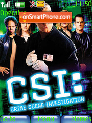 CSI:Las Vegas theme screenshot