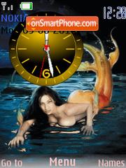 Скриншот темы Rusalka Clock