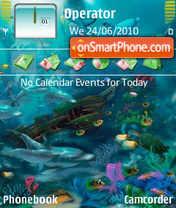 Ocean theme screenshot