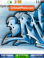 Graffiti Drawing theme screenshot
