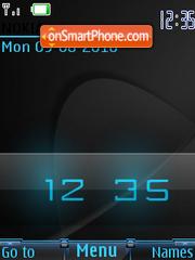 Digital Clock theme screenshot