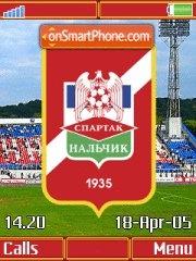 PFC Spartak Nalchick K850 es el tema de pantalla