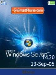 Windows 7 17 es el tema de pantalla