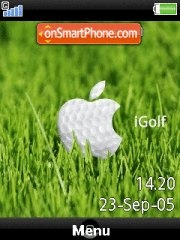 Apple Igolf theme screenshot