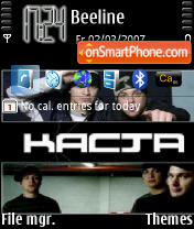 Kasta theme screenshot