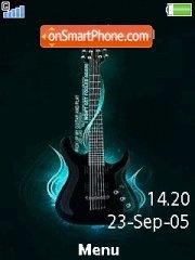 Guitar 13 es el tema de pantalla