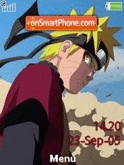 Capture d'écran Naruto Sage Mode 01 thème