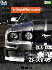 Mustang Theme theme screenshot