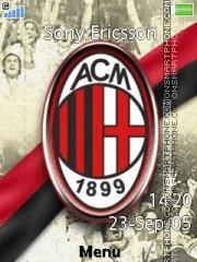 Ac Milan 18 theme screenshot