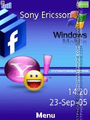Yahoo 06 es el tema de pantalla