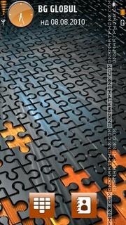 Puzzle by Adnan es el tema de pantalla