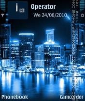 Скриншот темы City Lights