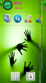 Capture d'écran Green Touch thème