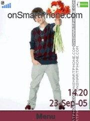 Capture d'écran Justin Bieber 01 thème