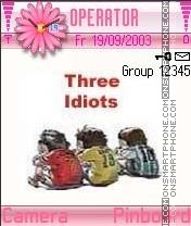 Three Idiots theme screenshot