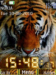 Tigers theme screenshot