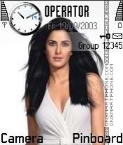 Katrina Kaif theme screenshot