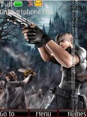 Скриншот темы Resident Evil 4 04
