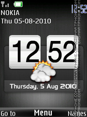 Htc Sonyericsson Theme-Screenshot
