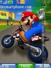 Capture d'écran Mario Kart Wii 02 thème