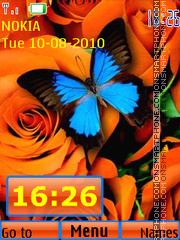 Butterfly 18 theme screenshot