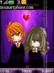Ron+Germione=Love theme screenshot