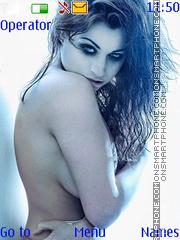 Sexy Girl theme screenshot