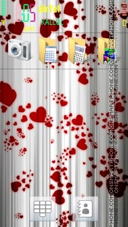 Love v5 theme screenshot