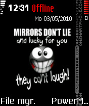 Mirror 03 theme screenshot