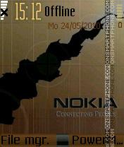 Nokia 7232 theme screenshot