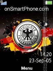 Deutscher Fussball-Bund theme screenshot