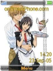 Capture d'écran Kaichou Wa Maid-sama thème