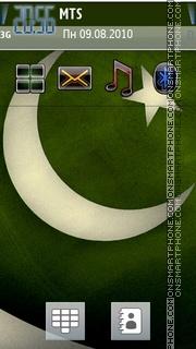Скриншот темы Pakistani Flag