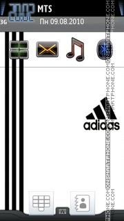 Adidas Logo 01 es el tema de pantalla
