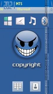Copyright theme screenshot
