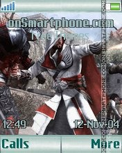 Assassins Creed Brotherhood K550 theme screenshot
