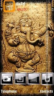 Ganesh by Kallol es el tema de pantalla