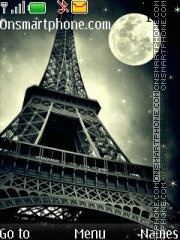 Eiffel Tower 10 theme screenshot